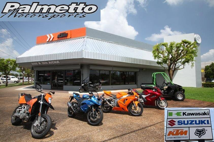 Click Picture for Palmetto Motorsports Map & Hours