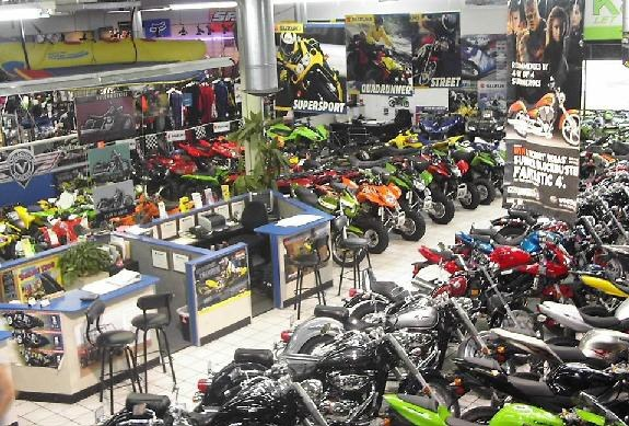 Here's a small section of our Showroom.